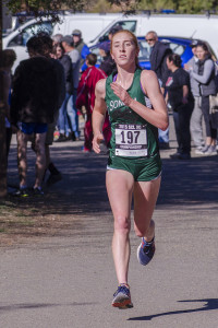 Amy Stanfield Sophomore, Sonoma Valley  3rd SCL, 48th State D III, 9th NCS, 12th Stanford D III, won 1 tri-meet
