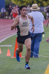 Blake Civello Junior, Maria Carrillo 11th NBL, 45th NCS D II, State participant