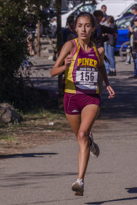Cynthia Rosales Freshman, Piner  SCL & Fr/So Viking & Lowell 1 Champ, 2nd Septo & Lagoon Sm, 5th NCS D III, 4th Stanford D III, 51st State, won 4 tri-meets