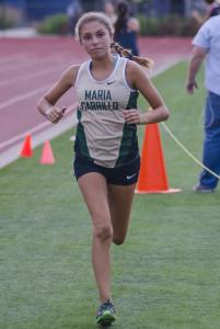 Sydnie Rivas Sophomore, Maria Carrillo 6th NBL, 18th NCS D II, 5th Rancho, State participant