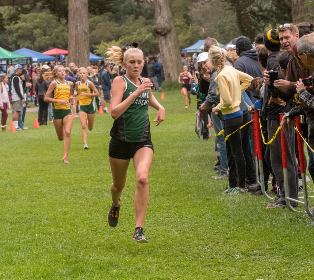 5th Kate BOWEN (FR) SONOMA ACADEMY 17:33.7, 7th fastest time for all divisions