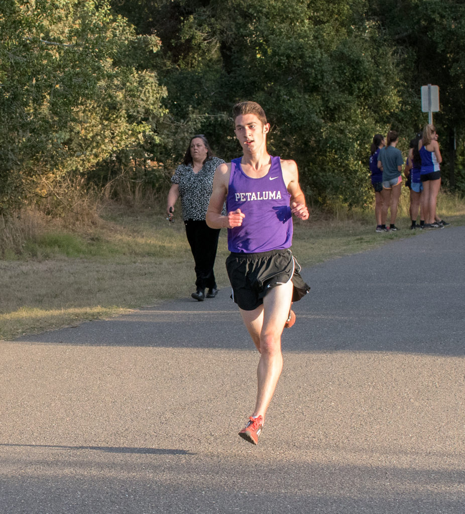 2nd place went to Petaluma's Jack Dunbar and the only other runner under 15 minutes. Jack finished in 14:34