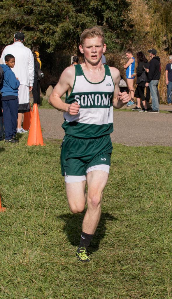 4th Justin Cox in 16:20