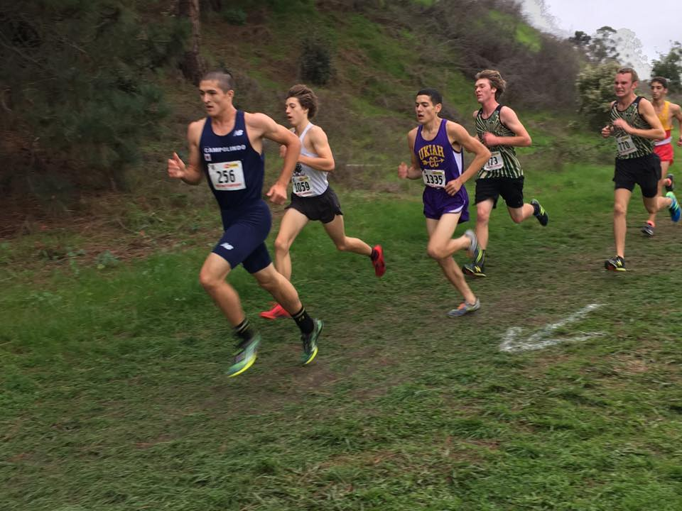 Ukiah's Robert Swoboda qualified for state as the Empire's fastest division III runner.