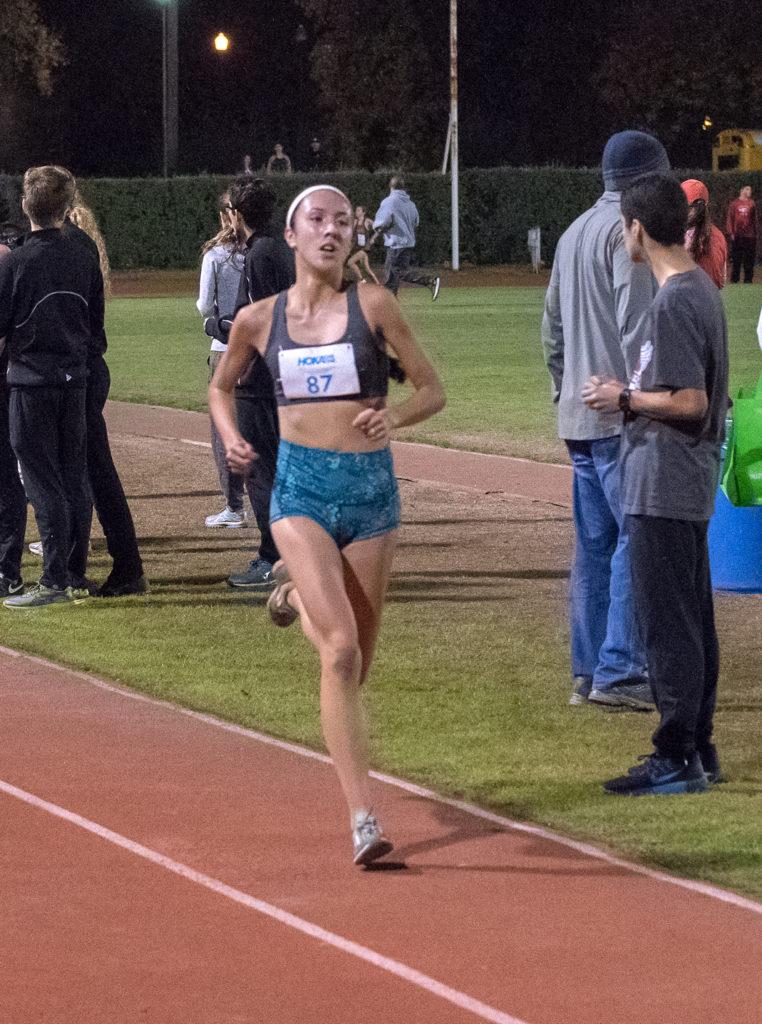 Third - Sophomore - Aimee Armstrong - Maria Carrillo - 11:34.3